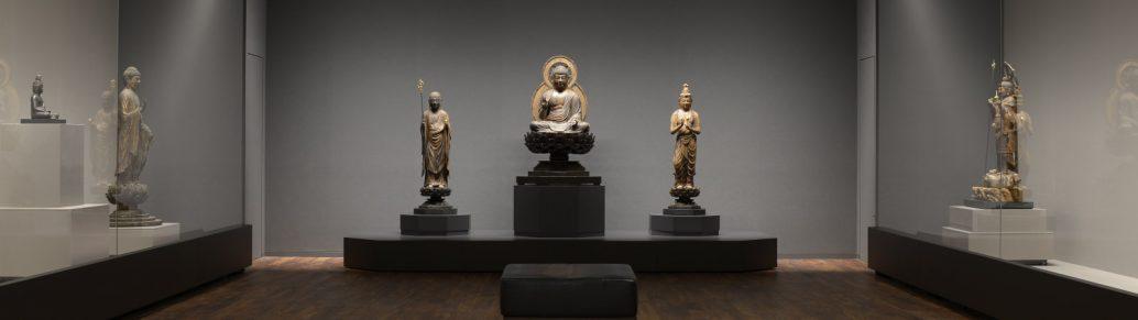 上原美術館仏教館展示室