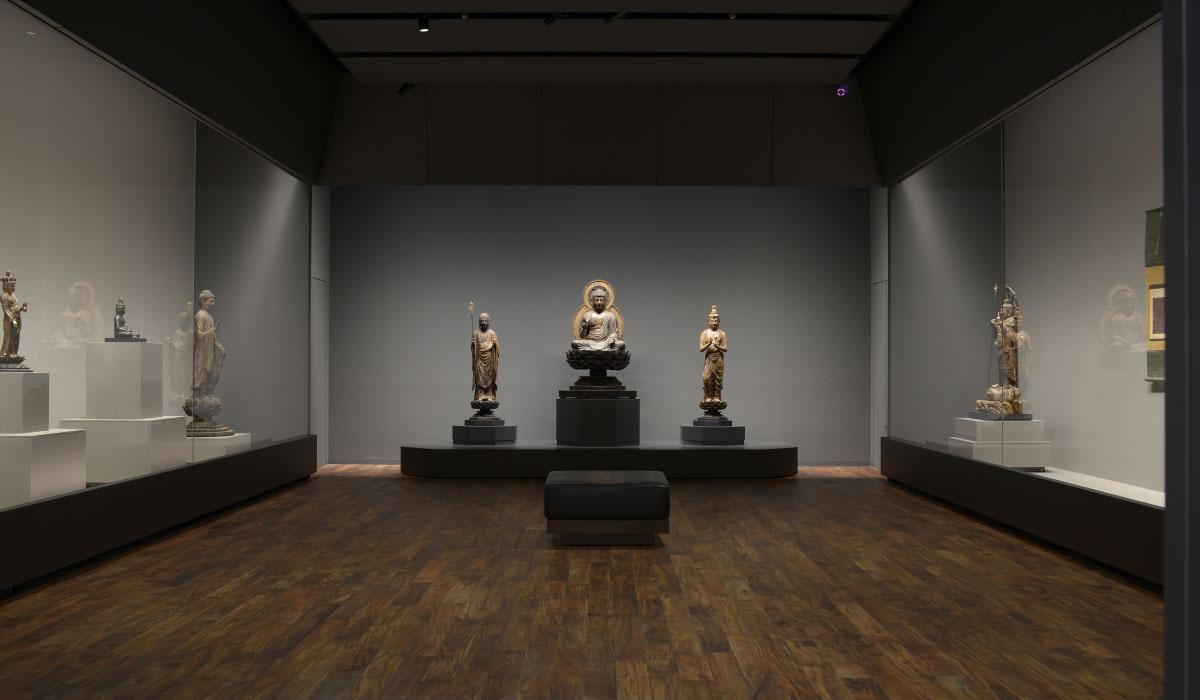仏教館展示室