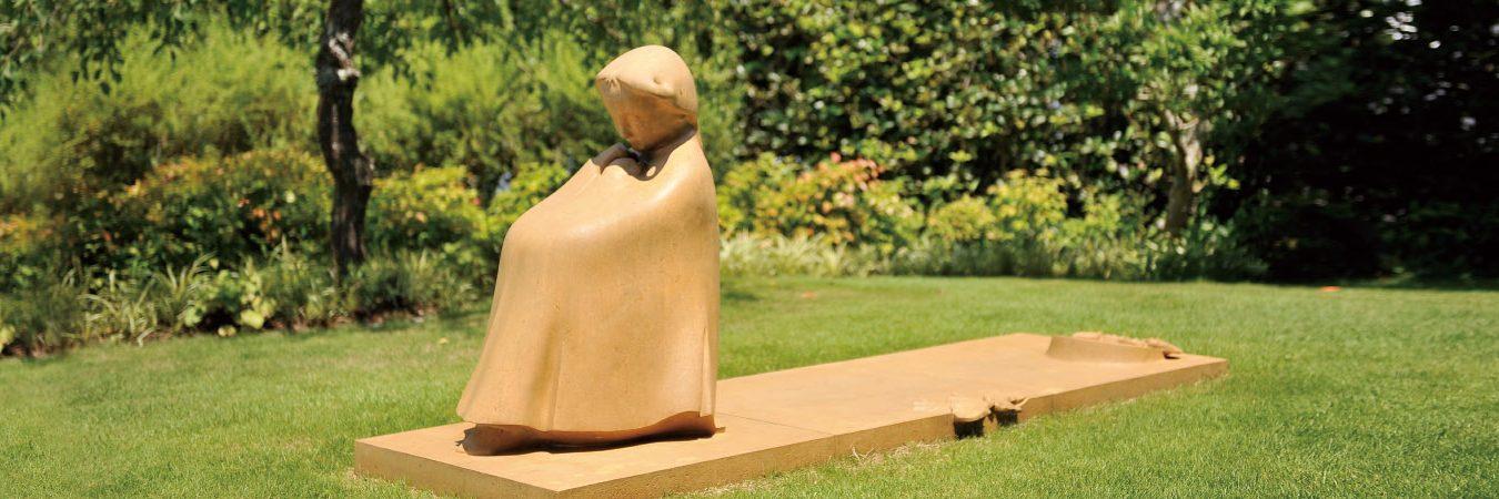 上原美術館近代館屋外彫刻