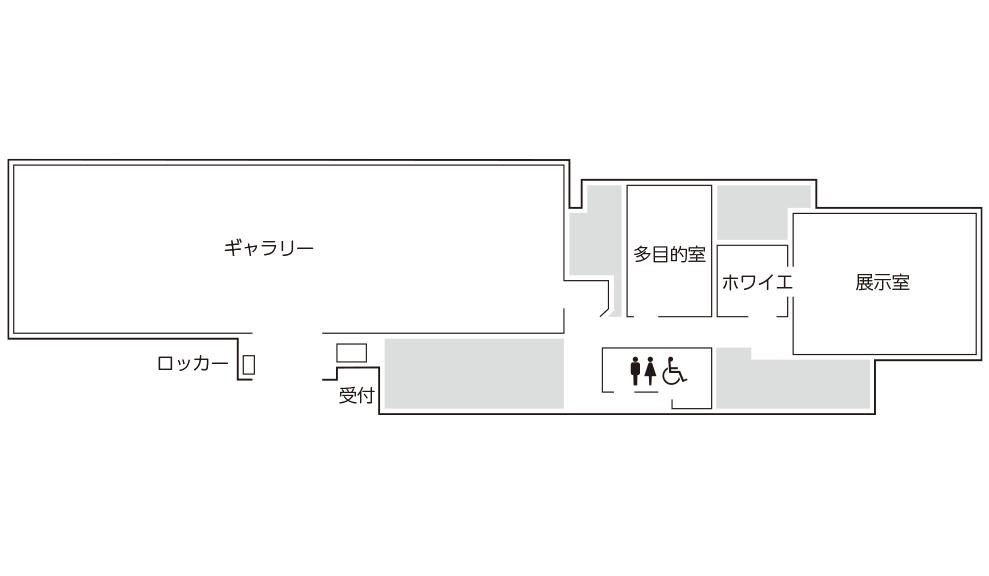 仏教館館内マップ