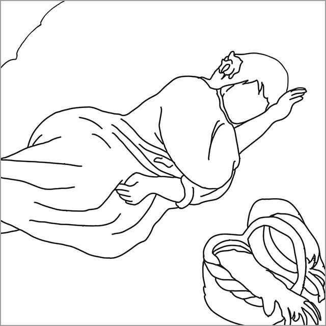 ピエール=オーギュスト・ルノワール 《横になった婦人》