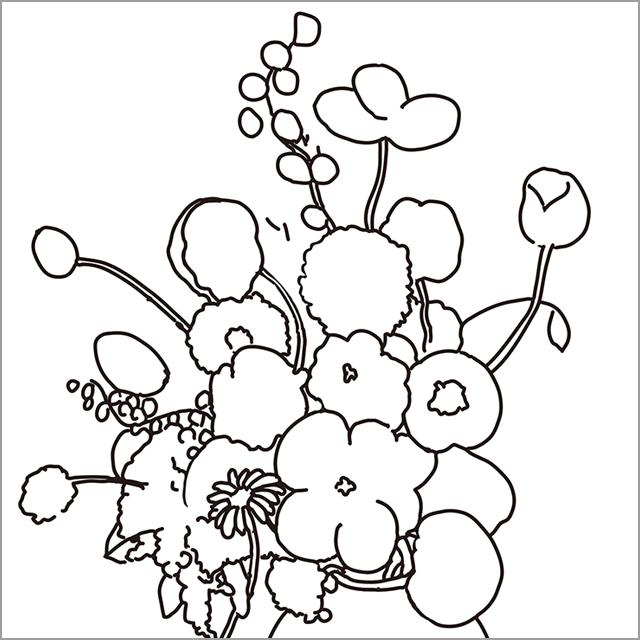 オディロン・ルドン≪花瓶の花≫
